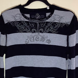 Guess 100% Cotton Crew Neck Sweater